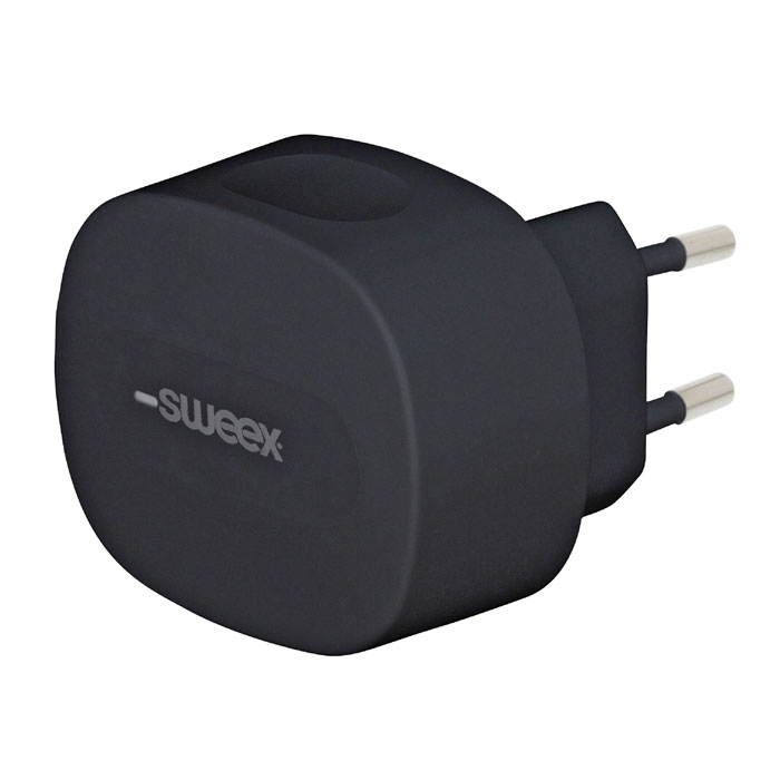 SWEEX CH-002BL Wall Charger 3.4 A USB + USB type-C Black