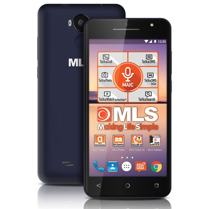 MLS F5 3G BLACK-BLUE DUAL SIM
