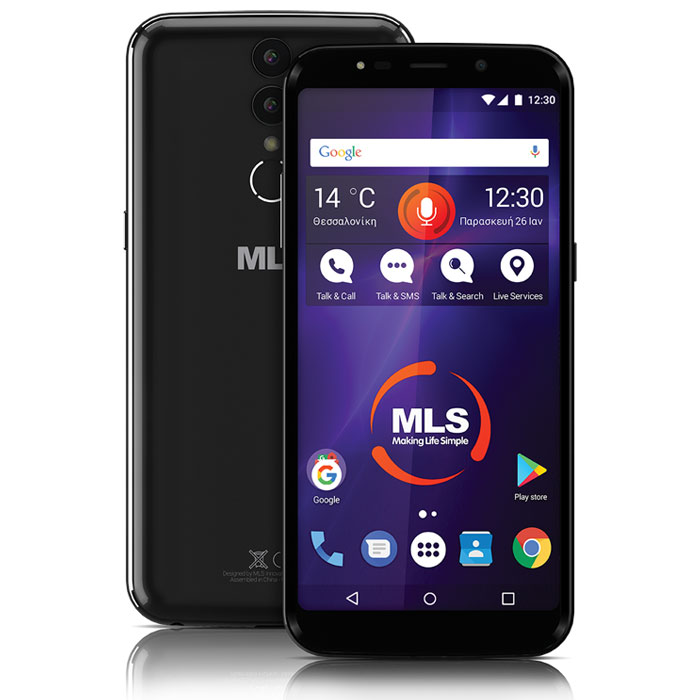 MLS MX PLUS 4G BLACK DUAL SIM