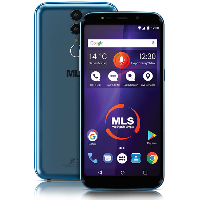 MLS MX PLUS 4G BLUE DUAL SIM