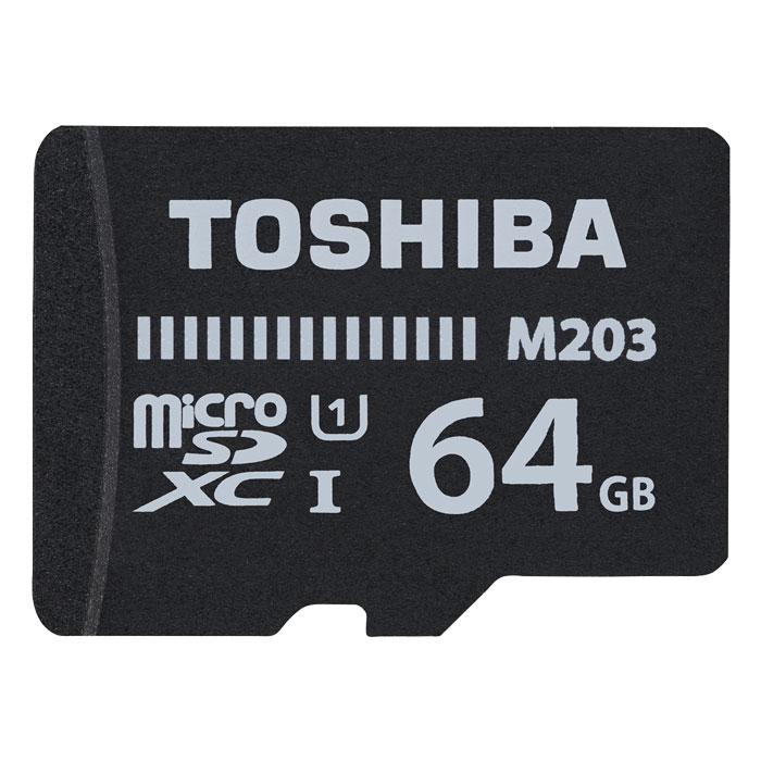 TOS MICROSDXC M203 64GB CLASS 10 UHS 1 WITH ADAPT