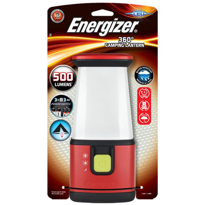 ENERGIZER 360 CAMPING LANTERN & 3xAA