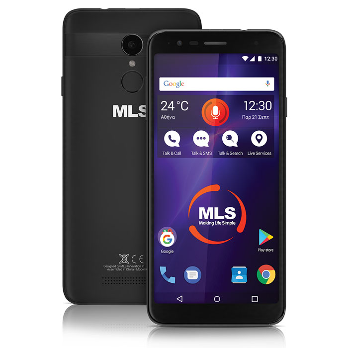 MLS MX 2019 4G BLACK DUAL SIM