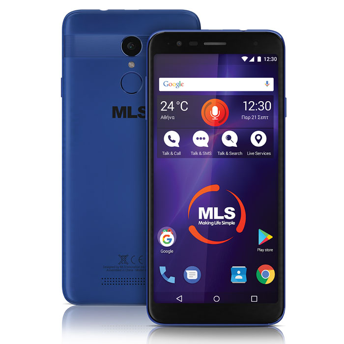 MLS MX 2019 4G BLUE DUAL SIM