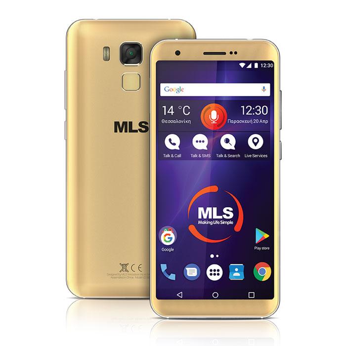MLS RANGE 5.5 4G GOLD DUAL SIM