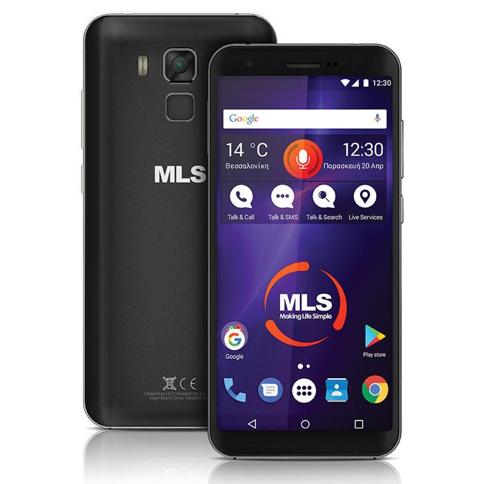 MLS RANGE 5.5 4G BLACK DUAL SIM