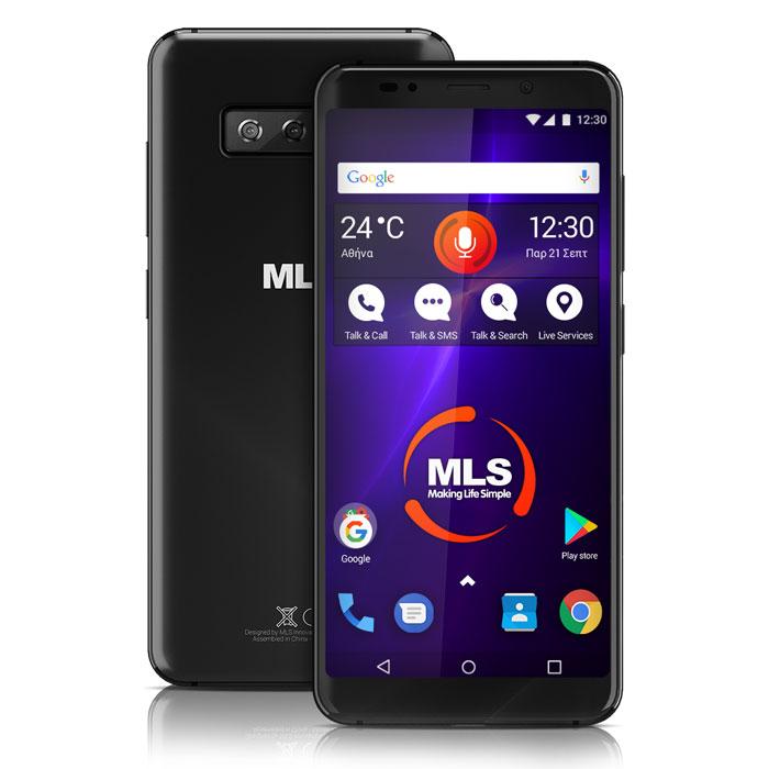 MLS MX PRO 4G BLACK DUAL SIM