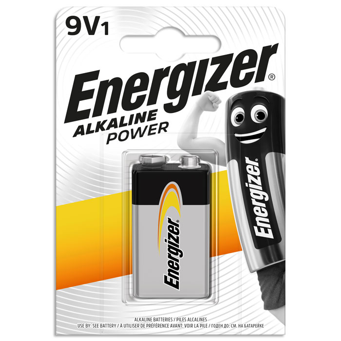 ENERGIZER 9V ALKALINE POWER