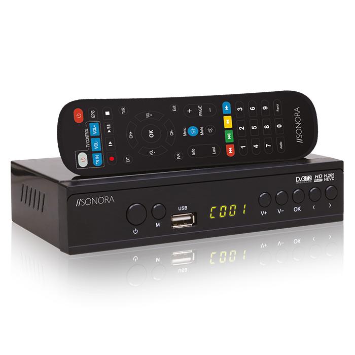 SONORA DVB-T2 H265
