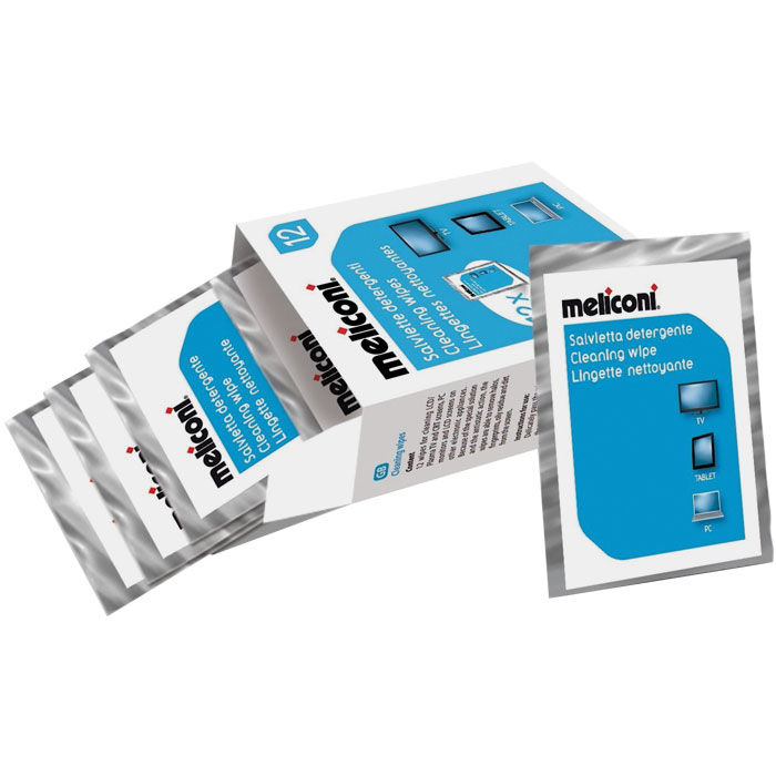MELICONI C-12 WIPES 12pcs