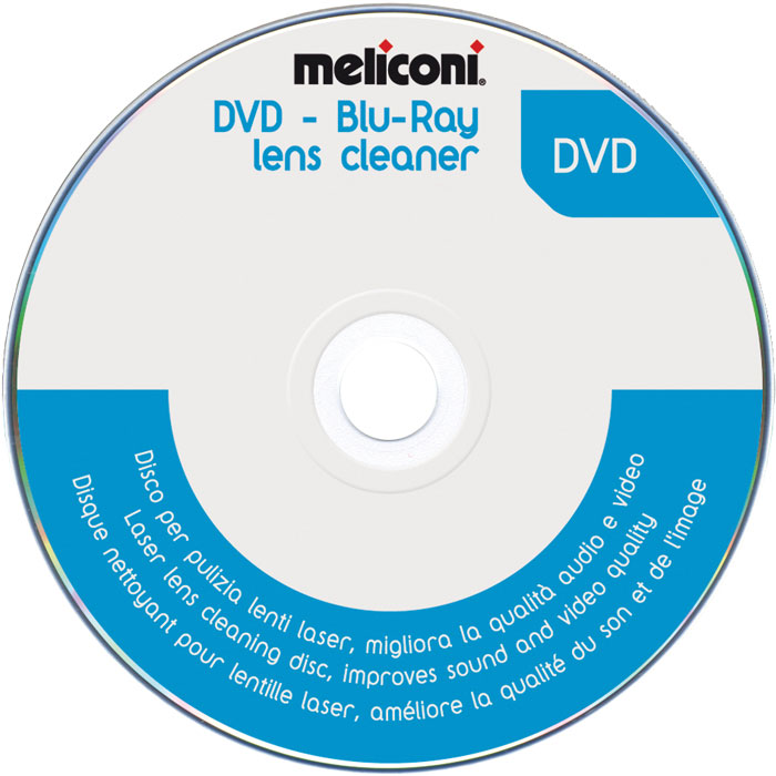 MELICONI 621012 DVD BLUE RAY LENS CLEANER