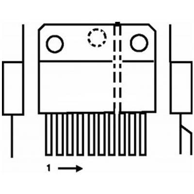 TDA 8174A IC