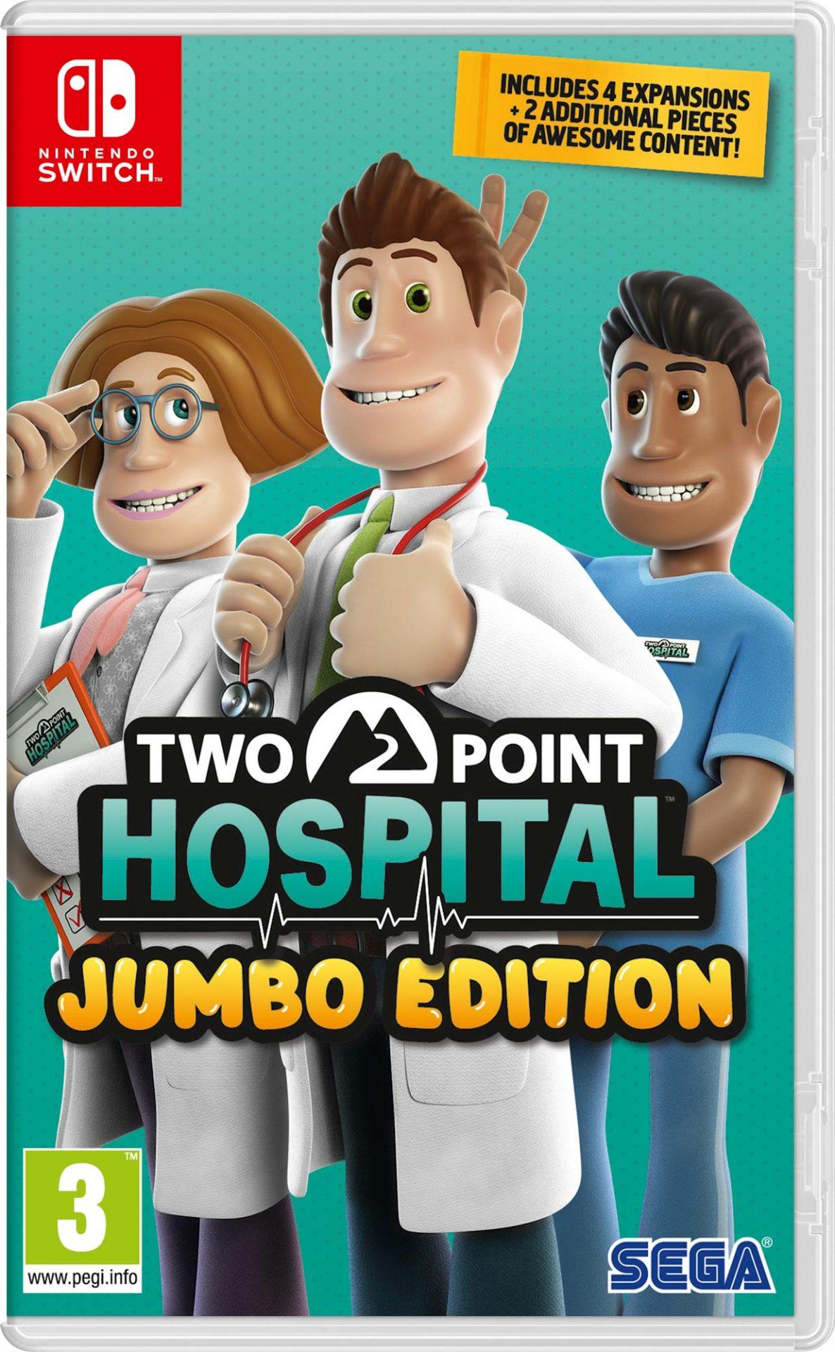 Two Point Hospital - Jumbo Edition Switch - SEGA 1.10.01.21.012