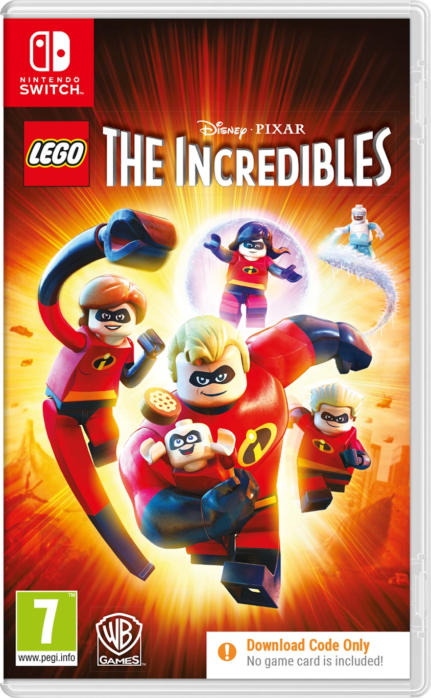 LEGO Incredibles (Code in a box) SWITCH - Warner 1.10.74.01.047