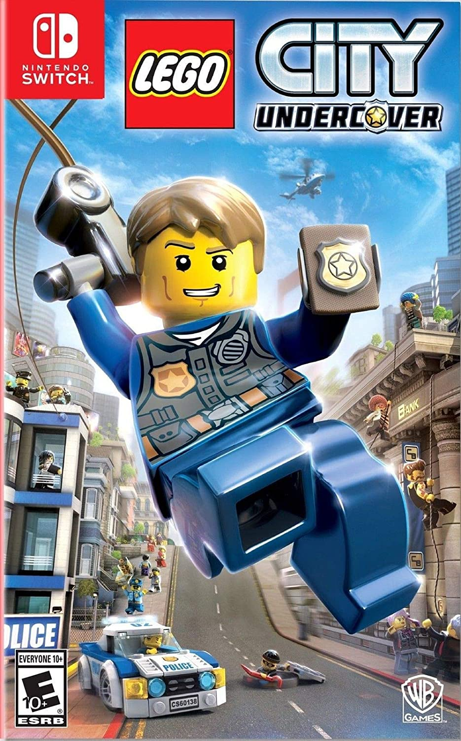 LEGO CITY UNDERCOVER SWITCH - Warner 1.10.74.21.004