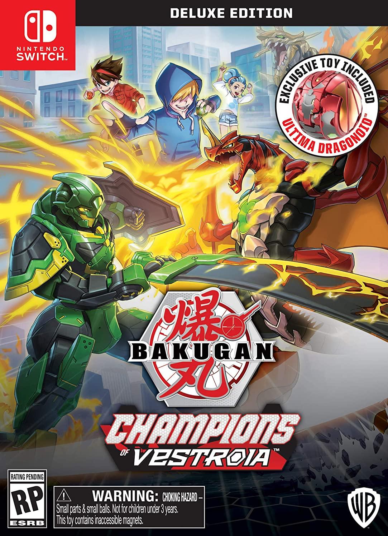 Bakugan Champions of Vestroia Toy Ed. Switch - Warner 1.10.74.21.016