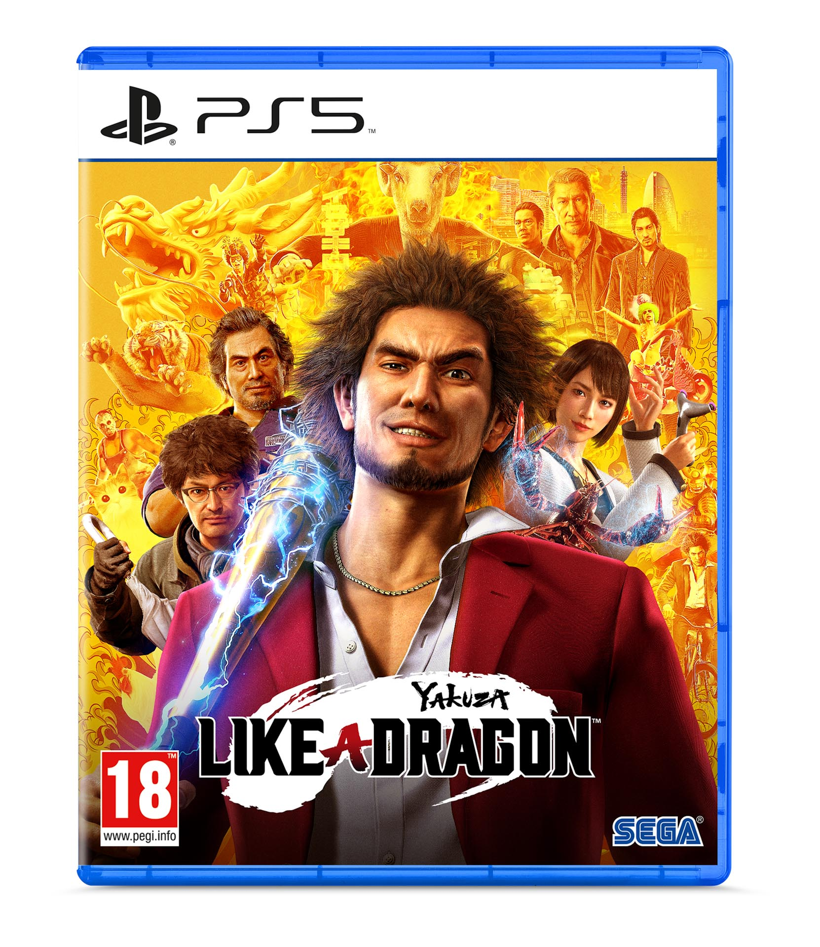 Yakuza Like a Dragon PS5 - SEGA 1.11.01.01.007