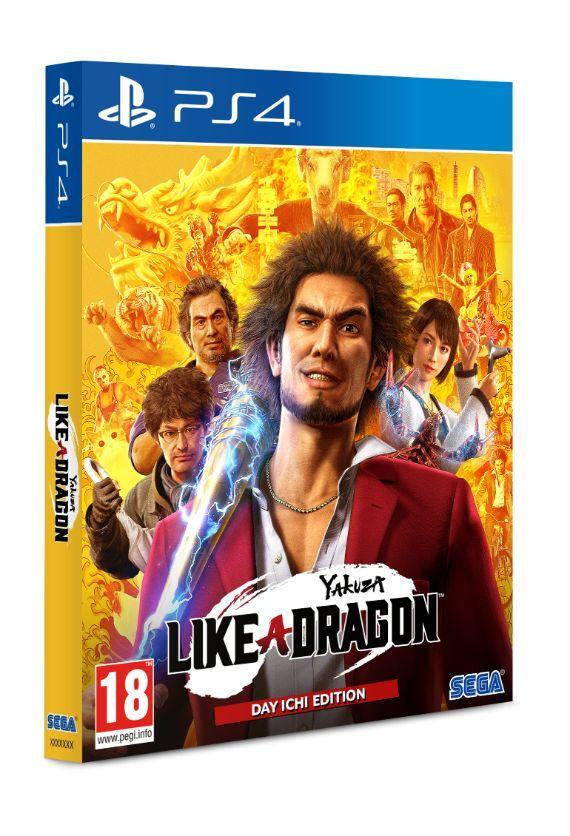 Yakuza Like a Dragon - Day Ichi Steelbook PS4 - SEGA 1.12.01.01.033