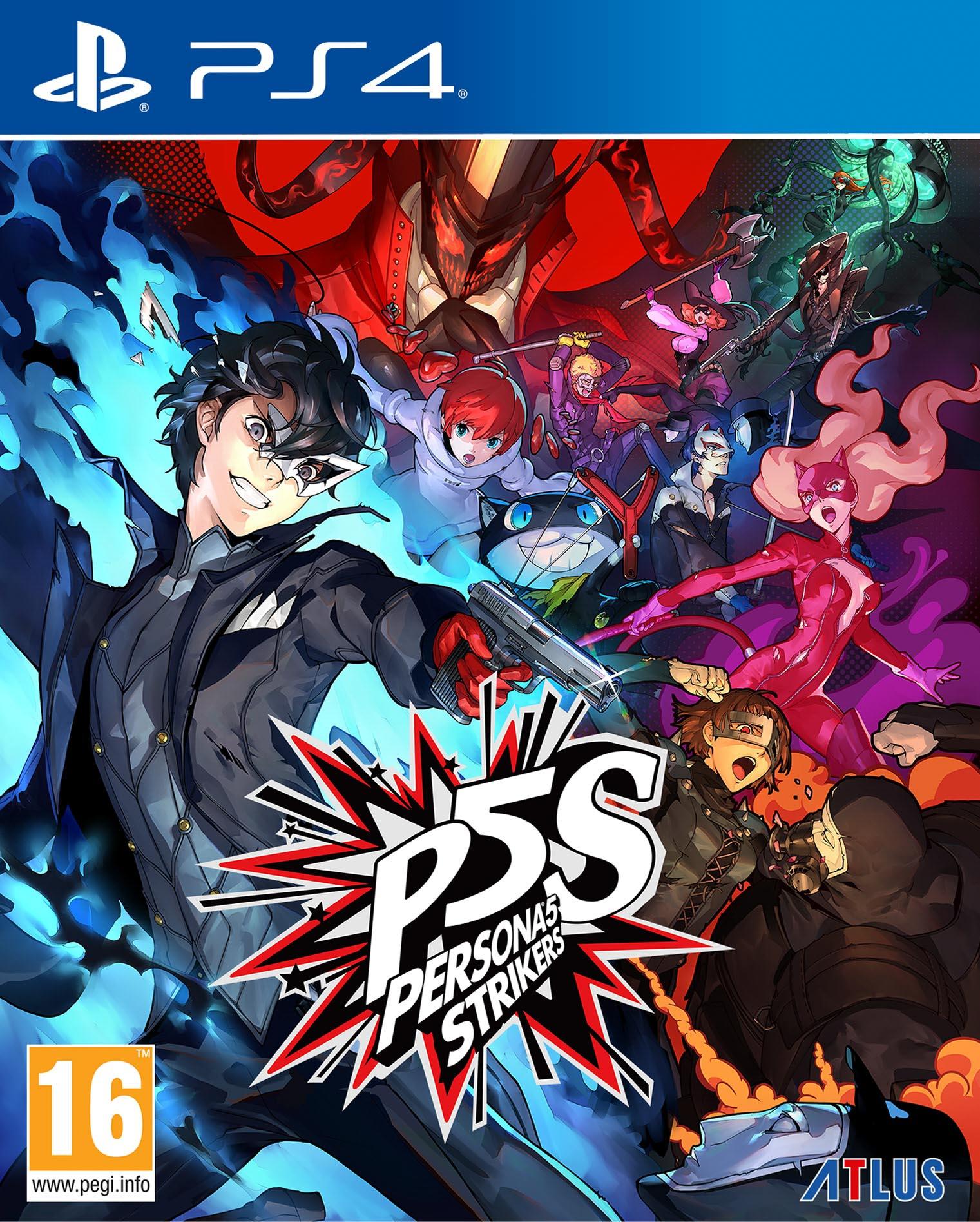 Persona 5 Strikers Limited Ed. PS4 - SEGA 1.12.01.21.011