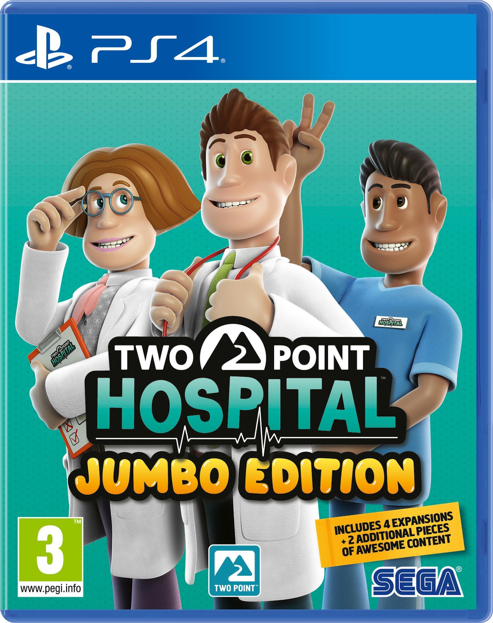 Two Point Hospital - Jumbo Edition PS4 - SEGA 1.12.01.21.013