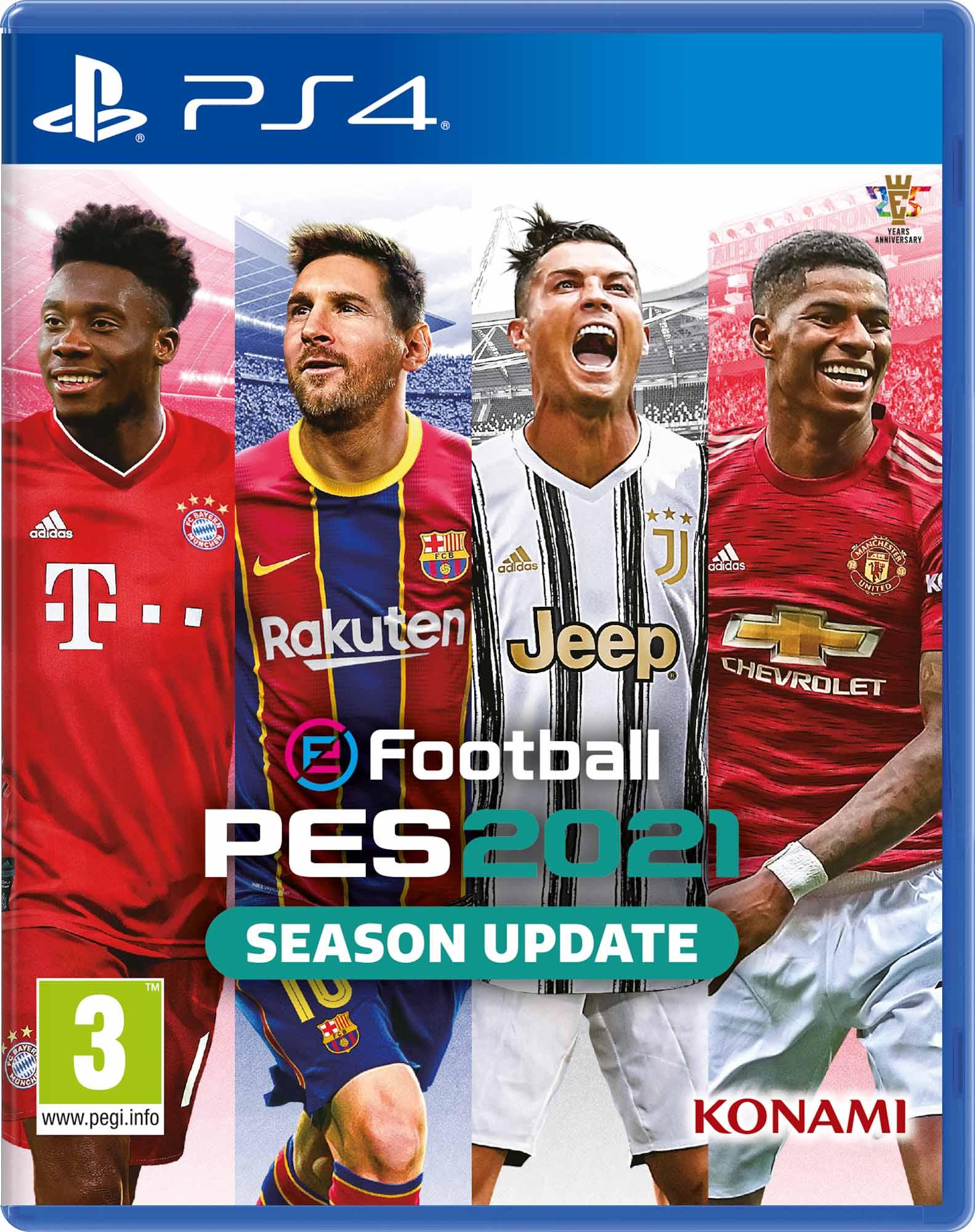 eFootball PES 2021 & myClub Bonus (Greek) PS4 - KONAMI 1.12.07.09.025