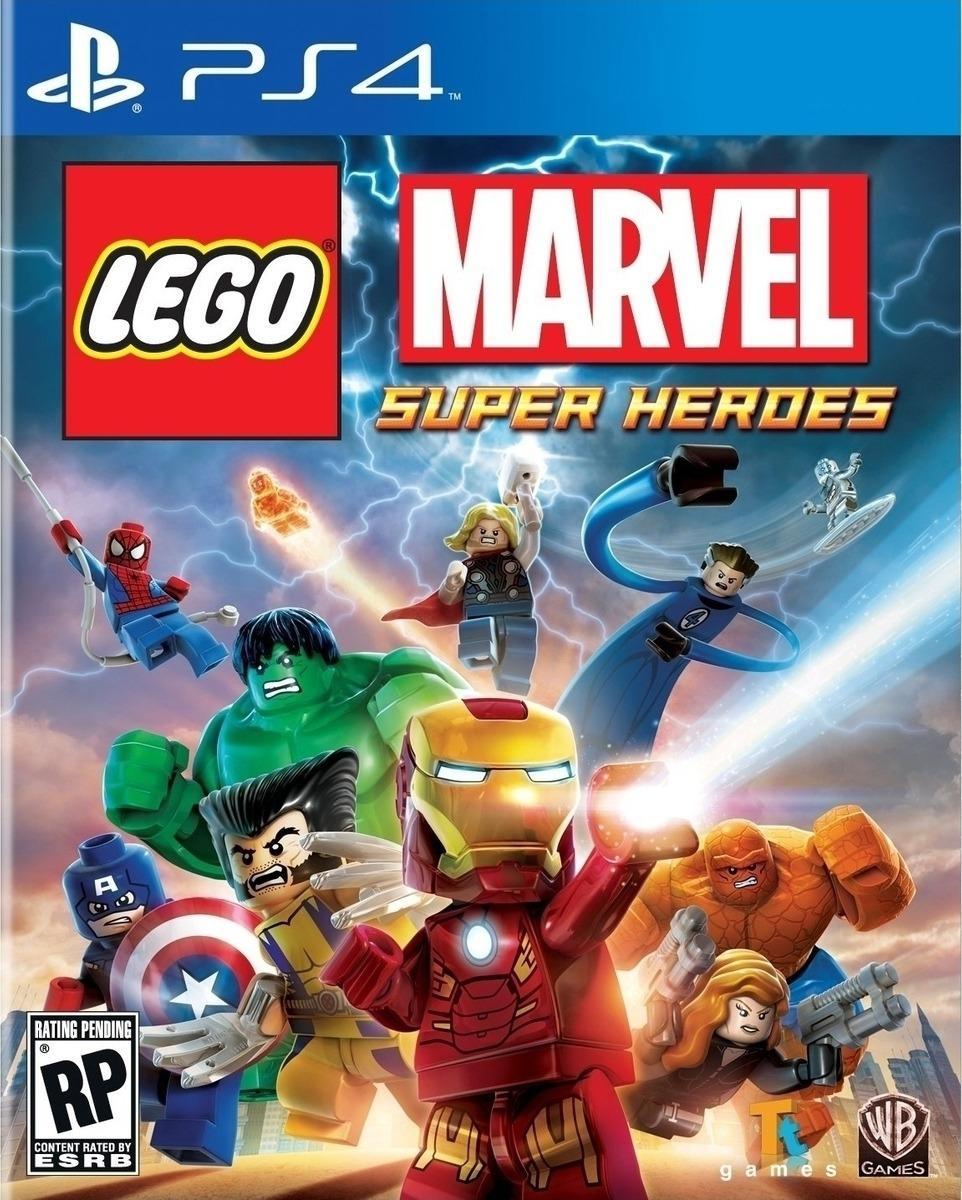 LEGO MARVEL SUPERHEROES PS4 - Warner 1.12.74.01.001