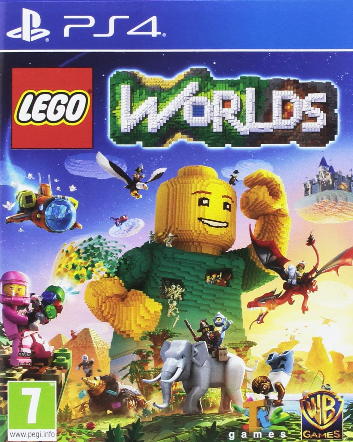 LEGO WORLDS PS4 - Warner 1.12.74.01.028