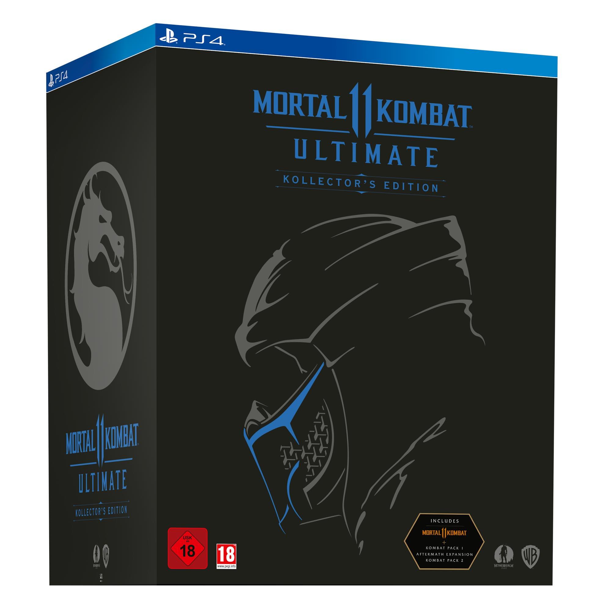 Mortal Kombat 11 Ultimate Edition Kollectors PS4 - Warner 1.12.74.21.017