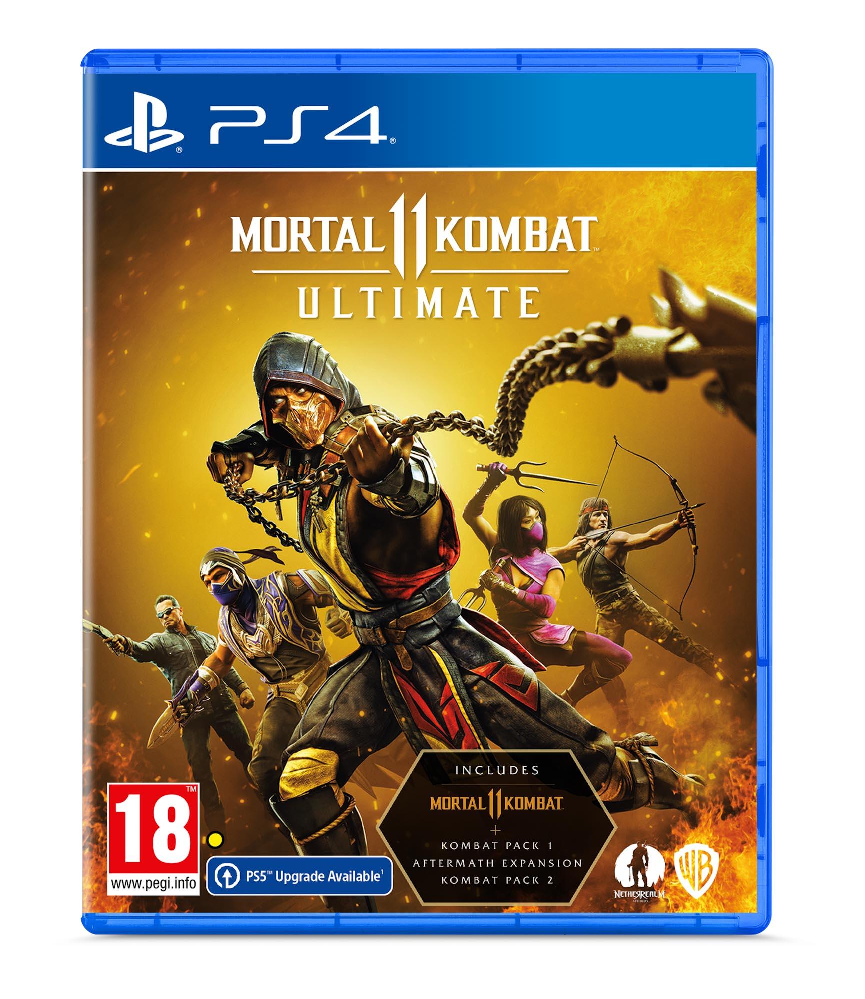 Mortal Kombat 11 Ultimate Edition PS4 - Warner 1.12.74.21.018