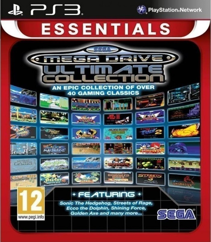 MEGADRIVE ULTIMATE COLLECTION PS3 - SEGA 1.14.01.18.001