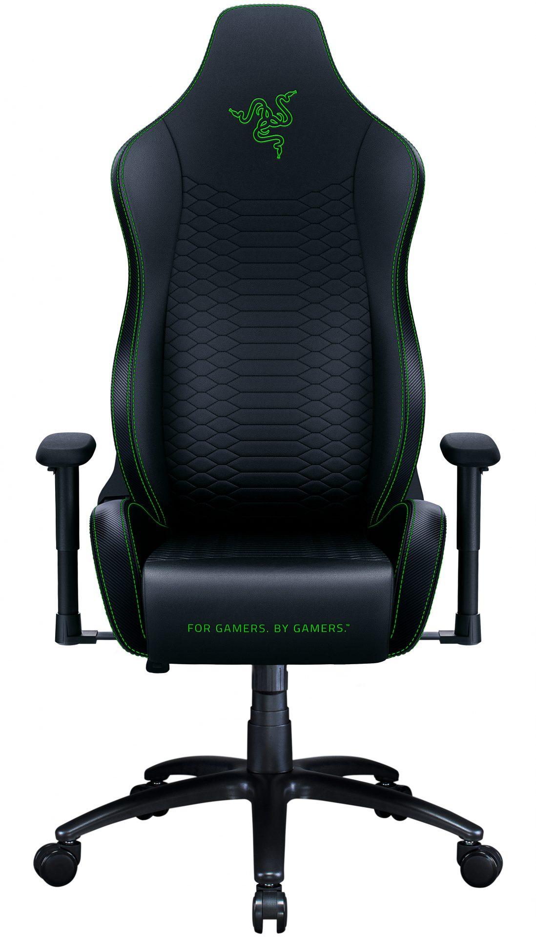 Razer ISKUR X Black/Green - Ergonomic Gaming Chair - Razer 1.28.80.02.011