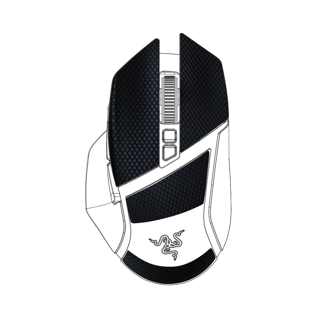 Razer Mouse GRIP TAPE - Basilisk Ultimate/Basilisk V2/Basilisk X HyperSpeed Edition - Razer 1.28.80.12.094