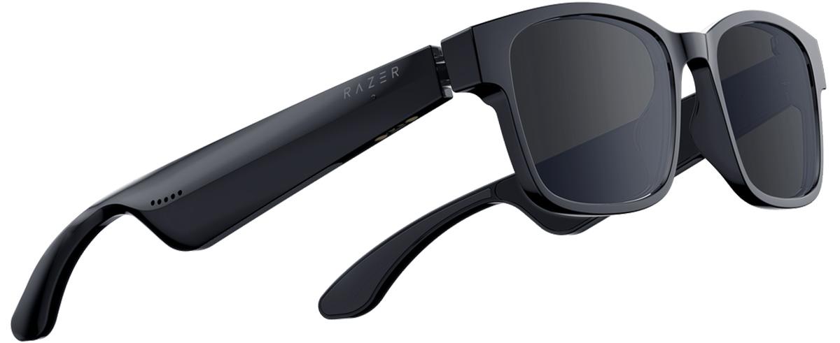 Razer ANZU Smart Glasses - Rectangle Blue Light + Sunglass Large Size - Razer 1.28.80.12.105