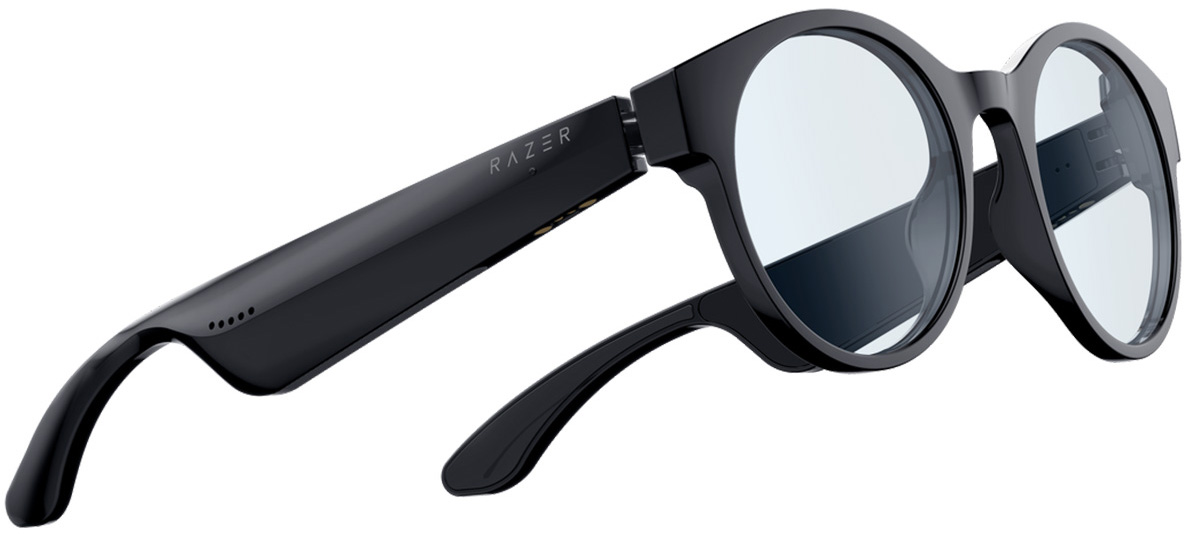 Razer ANZU Smart Glasses - Round Blue Light + Sunglass Large Size - Razer 1.28.80.12.106