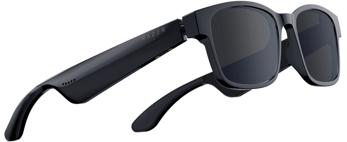 Razer ANZU Smart Glasses - Rectangle Blue Light + Sunglass Small Size - Razer 1.28.80.12.107