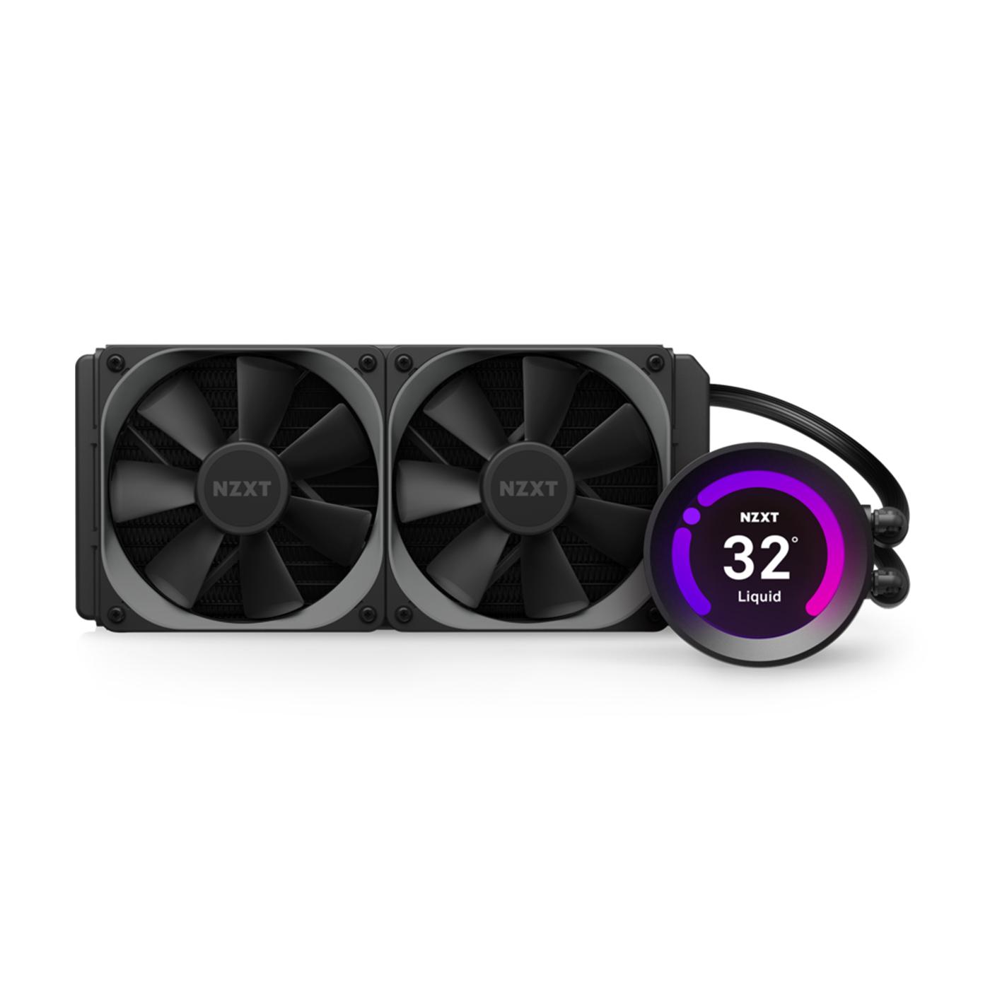NZXT KRAKEN Z53 (240MM) RGB Variable Speed Liquid Cooler – (Includes AM4 Bracket & Hue 2) - NZXT 2.31.62.00.057
