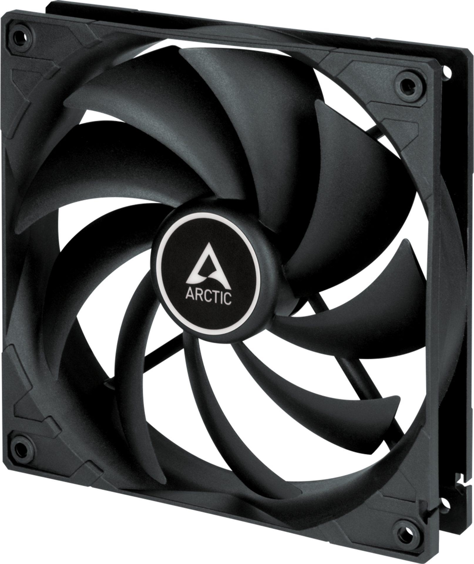 Arctic F14 Silent Case Fan - 140mm case fan with low speed - Black Color - Arctic 2.35.64.00.076