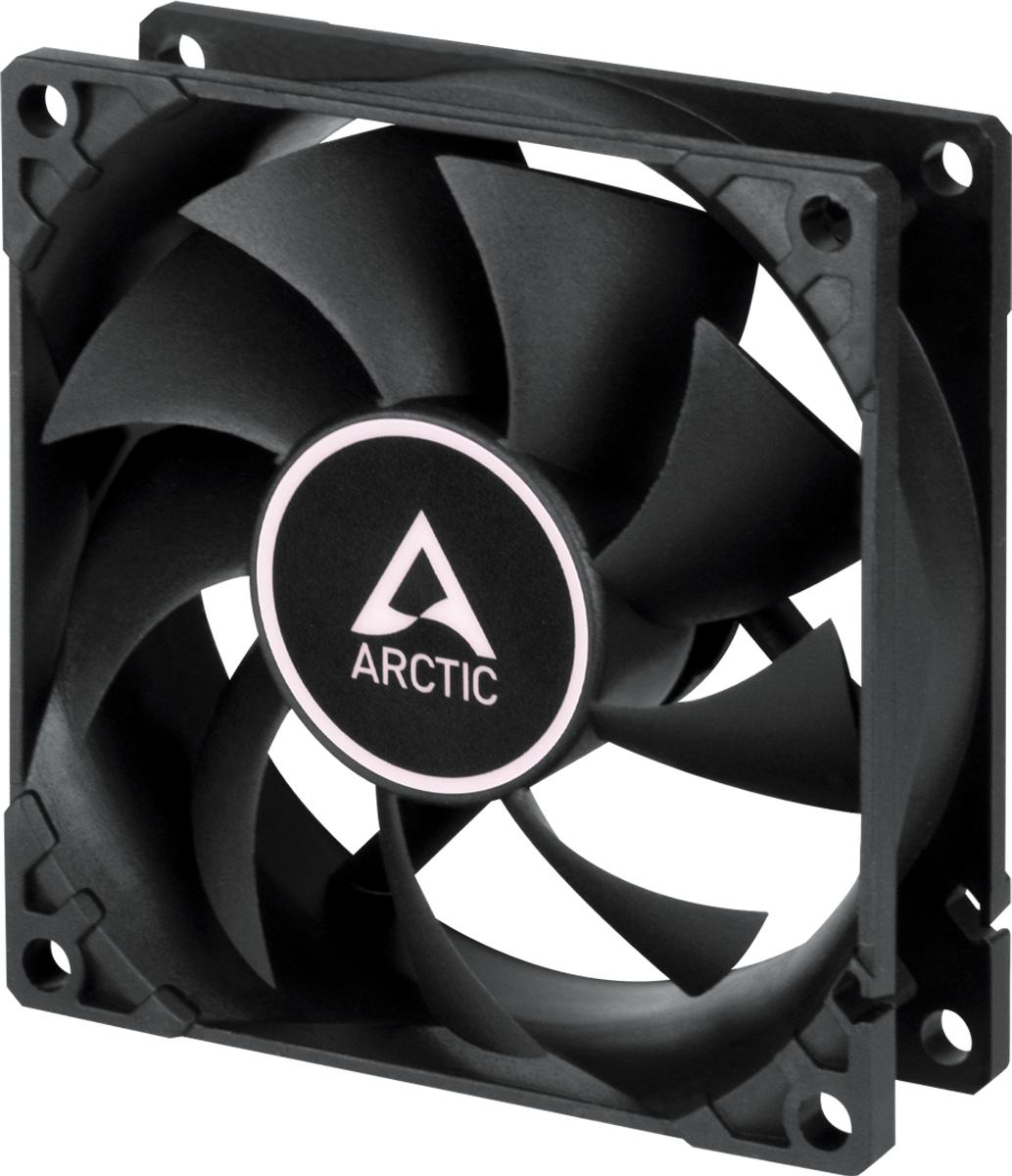 Arctic F8 Case Fan - 80mm case fan low noise - Black Color - Arctic 2.35.64.00.077