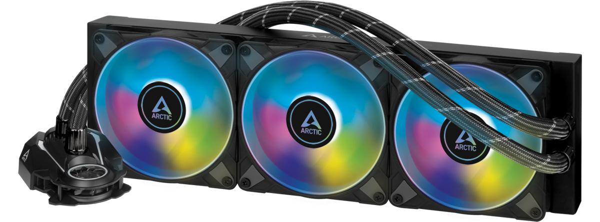 Arctic Liquid Freezer II 360mm A RGB Black AIO CPU Liquid Cooler Closed Loop - Arctic 2.35.64.03.009