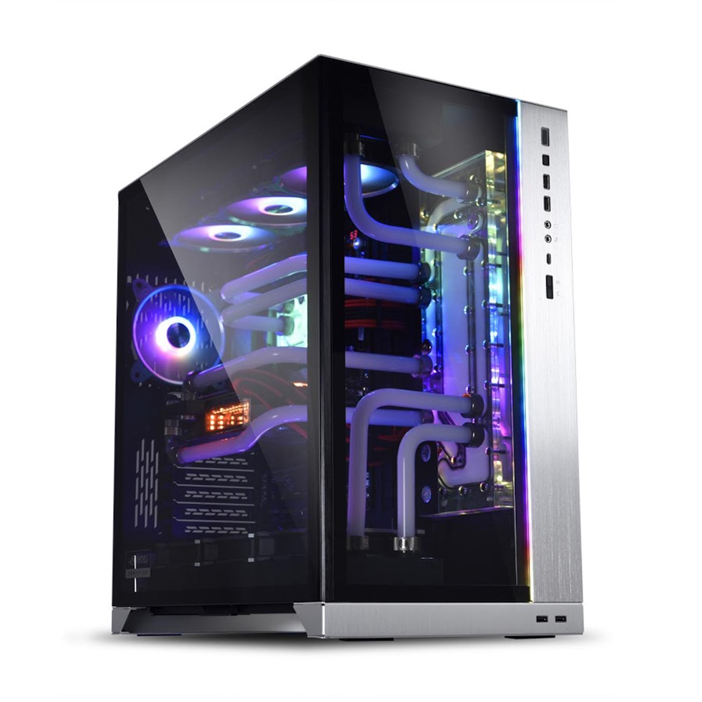 Lian Li PC-O11 Dynamic XL ROG Certify Silver - Black E-ATX / ATX / M-ATX (steel & aluminium) PC Case - LIAN LI 2.35.65.00.005