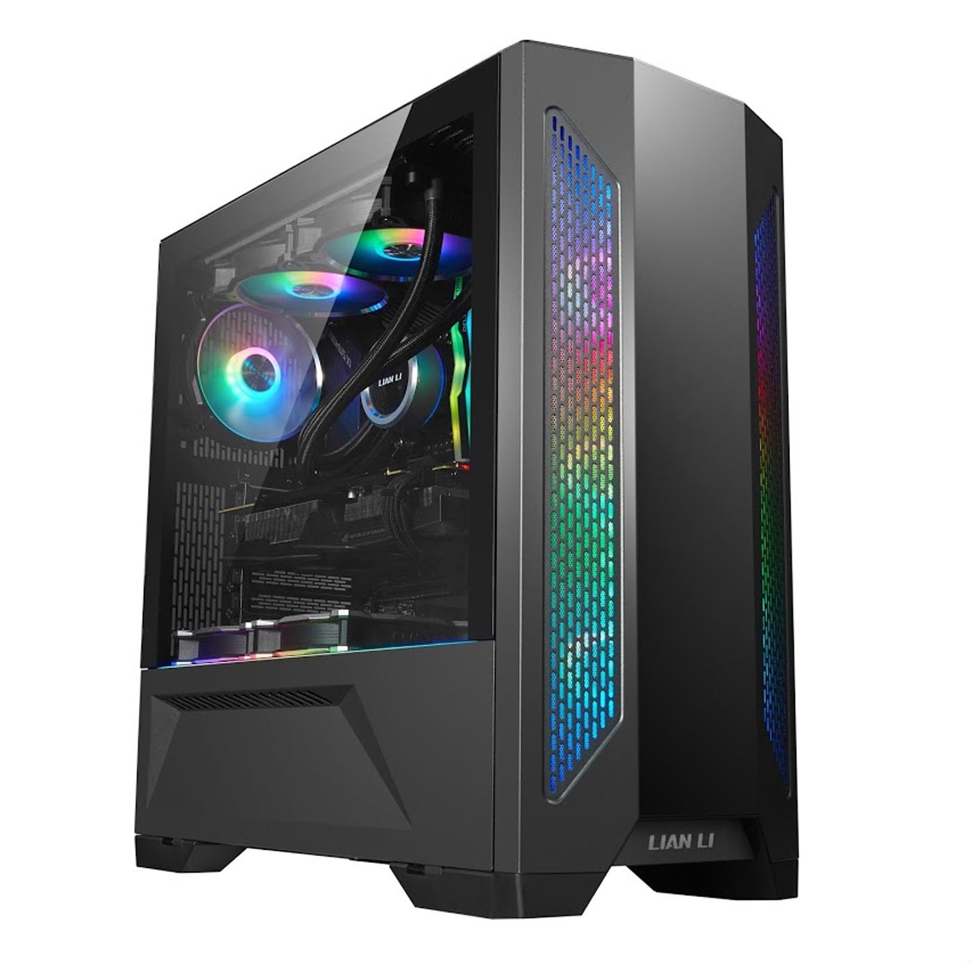 Lian Li Lancool II Black - Black  ( 3 fans included) PC Case - LIAN LI 2.35.65.00.008