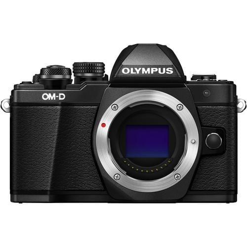Olympus E-M10 Mark II black BODY Micro FT Camera - Olympus 9.00.03.03.035