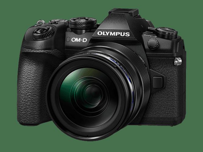 Olympus E-M1II Body black + EZ-M1240PRO black  incl. Charger, Battery & Lens Hood - Olympus 9.01.03.03.106