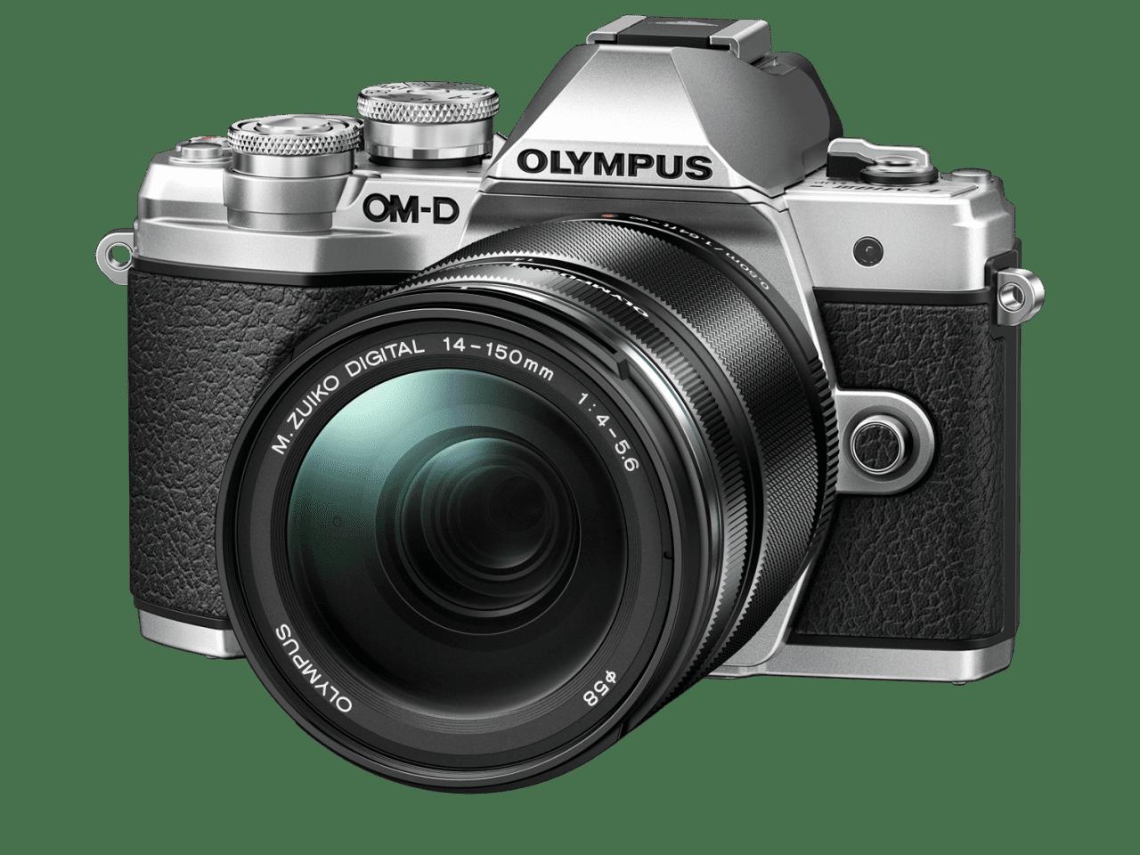 Olympus E-M10 Mark III Silver + 14-150mm kit Black - Olympus 9.01.03.03.122