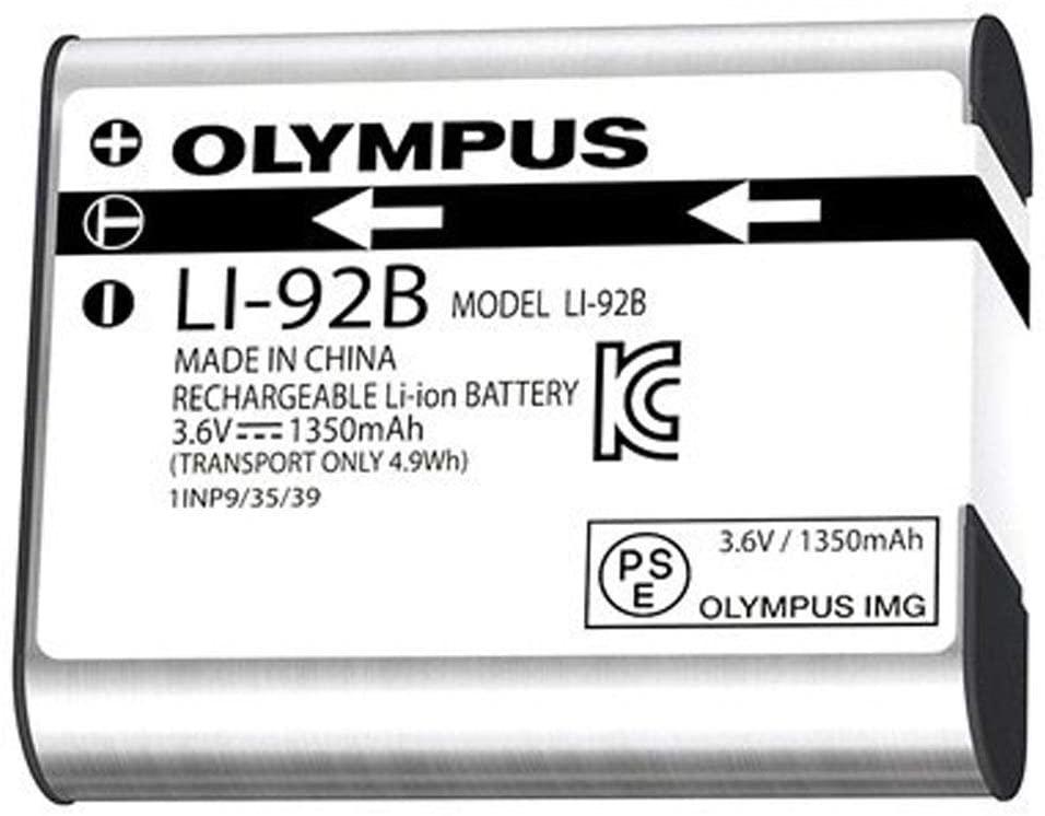 Olympus LI-92B Lithium Ion rechargeable battery (1350 mAh) - Olympus 9.03.02.10.019