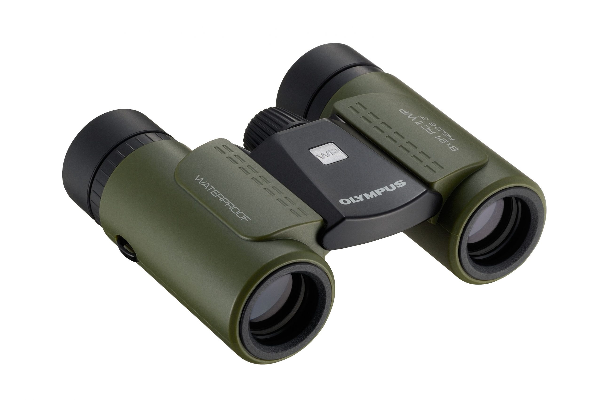 Olympus 8X21 RC II WP GREEN Binoculars - Olympus 9.06.01.01.039