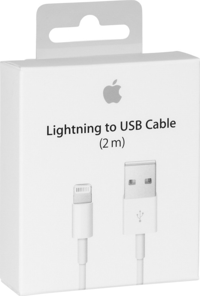 Καλώδιο Original Apple USB To Lighting MD819ZM 2.0m White Retail