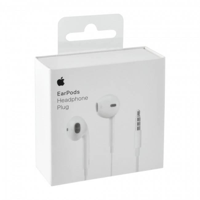 Apple EarPods with 3.5mm Headphone Plug  MNHF2ZM Retail