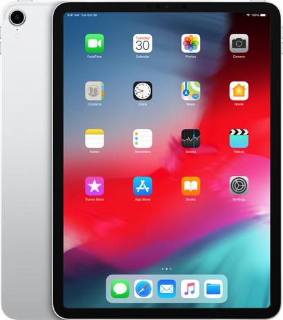 Apple iPad Pro 11'' 2018 WiFi 64GB Silver Με Αντάπτορα Πληρωμή έως 24 δόσεις