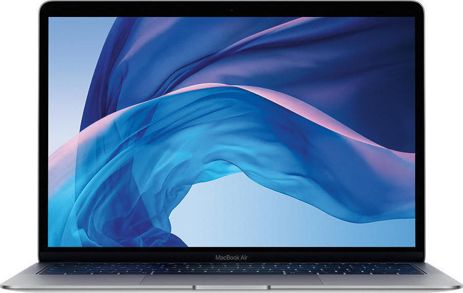 Apple MacBook Air MRE92 13.3'' 1.6GHz i5/8GB/256GB Retina 2018 Space Grey English Keyboard Με Αντάπτορα Πληρωμή έως 24 δόσεις*